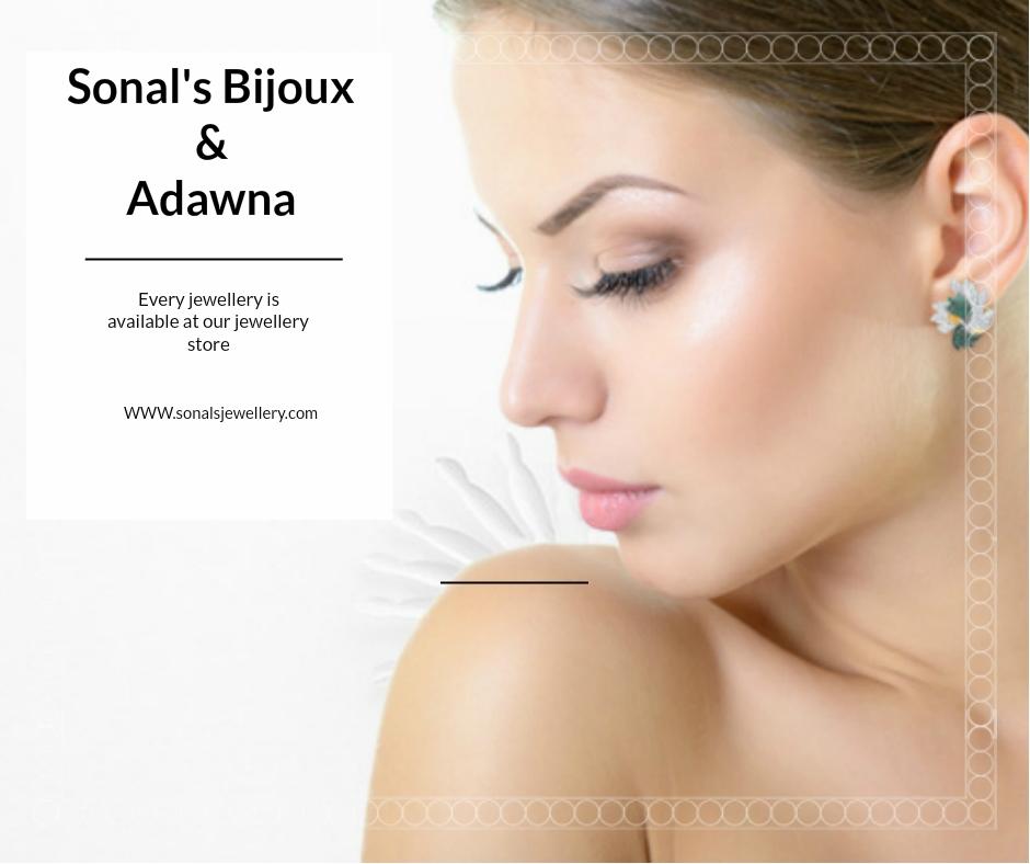 Adorable Silver Earrings By Sonal's Bijoux & Adawna