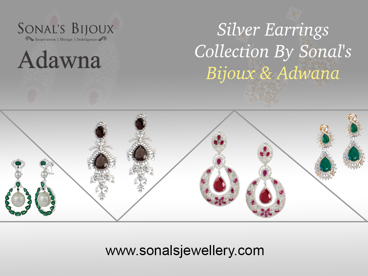 Silver Earrings Online Shopping India