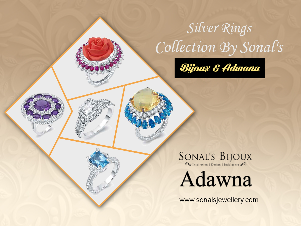 Designer Silver Rings in India