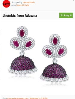 Jhumkis from Adawn