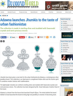 Adawna launches Jhumkis to the taste of urban fashionistas
