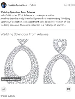 Wedding Splendour From Adawna