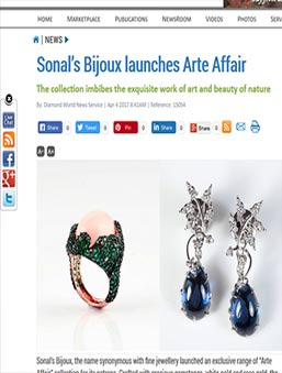 Sonal's Bijoux launches Arte Affair